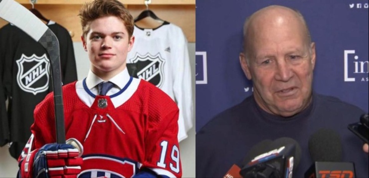 Cole Caufield Claude Julien